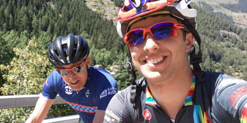 Dr Davis at the Tour de Mont Blanc