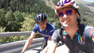 Dr Davis at the Tour de Mont Blanc