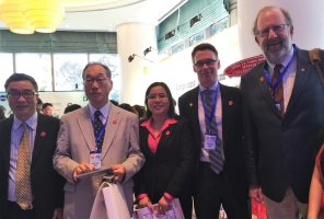 Drs Goodday and Davis in Ho Chi Minh City